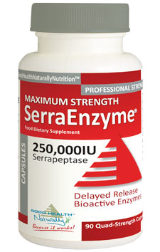 SerraEnzyme (Serrapeptase) 250,000IU